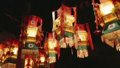 Chinese Lanterns. - stock footage