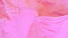 pink-pant-close-up - stock photo