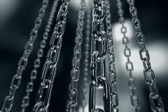 Chain. Stock Illustration