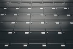 Mailboxes. - stock illustration