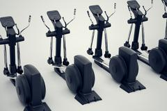 Crosstrainers. Stock Illustration