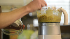Food processor Stock Footage