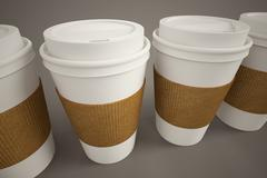 Coffee cup. - stock illustration