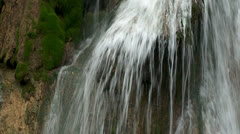 Waterfall In A Mountains Stock Footage