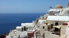 Santorini,Greece Stock Footage