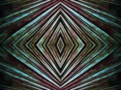 hypnotic lines background - stock illustration