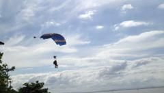 Sky Diving 2 Stock Footage