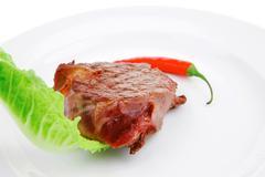 Savory : beef fillet mignon Stock Photos