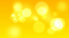 Animation Abstract  Bright Yellow Background Stock Footage