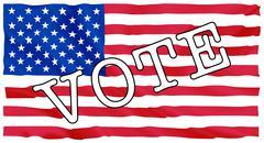 Usa president election Stock Illustration