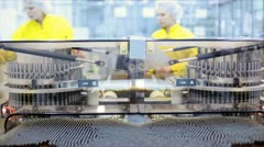 Pharmaceutical Factory Stock Footage