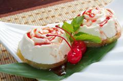 japanese dessert - stock photo