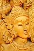 Thai carve art Stock Photos