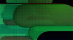 Retro Green Text Friendly Loop Stock Footage