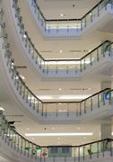 Multi-storey shop interior Stock Photos