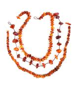 Beads of amber Stock Photos