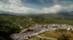 Chefchaouen blue town, Morocco. Stock Footage