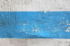 blue and white wall - stock illustration