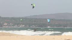 Kite  in Mui Ne Vietnam Stock Footage