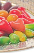 Deletable imitation fruits dessert Stock Photos