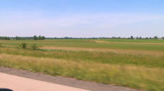 Driving across Midwest in June - 2 Stock Footage