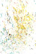 abstract background from the remnants of pencil crayons - stock photo