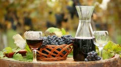 Red wine Stock Footage