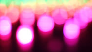 "Stock Video Footage of ""Dancing"" lights changing colors effect"