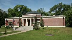 Sam houston memorial museum, huntsville, texas, usa Stock Footage