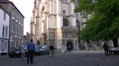 Canterbury Cathedral spires Stock Footage
