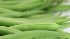 Green Beans Stock Footage