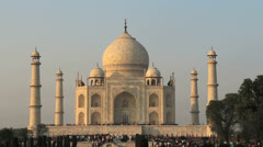 India front view Stock Footage