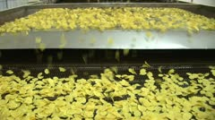 Corn flakes - stock footage