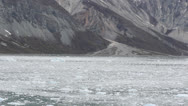 Stock Video Footage of Sailing Glacier Bay Alaska
