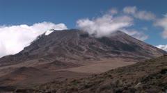 Mount Kilimanjaro Stock Footage