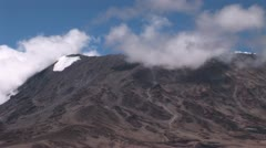 Mountain Kilimanjaro Stock Footage