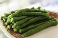 Stock Photo of long green bean