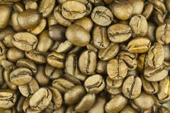 Coffee beans as pattern or background Stock Photos