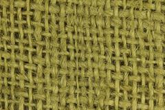Texture and pattern of a jute bag or a sack Stock Photos