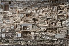 Ancient stonewall background Stock Photos