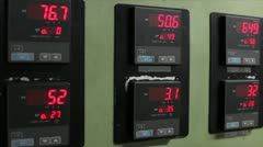 Control panel Stock Footage