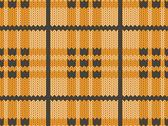 Stock Illustration of orange realistic textile pattern