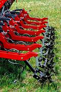 agricultural equipment. detail 133 - stock photo