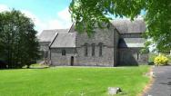 Stock Video Footage of Ballintubber Abbey 1