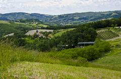 Stock Photo of Green hills - Appennini Modenesi