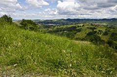 Stock Photo of View from the hill - Northern Italy