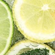 fresh drink close-up - stock photo