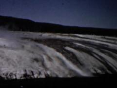 Active Hotspot Yellowstone Stock Footage