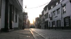 Canterbury view 06 Stock Footage