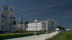 Seaside Resort Heiligendamm - Baltic Sea, Northern Germany Stock Footage